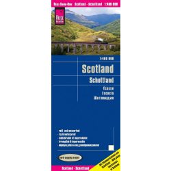 Skócia térkép Reise 2017 1:400 000