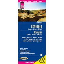 Etiópia térkép Reise 1:1 800 000 Etiópia autós térkép, Ethiopia autós térkép