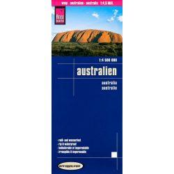Ausztrália térkép Reise 1:4 000 000