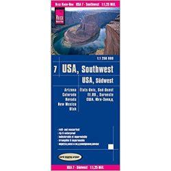 USA 7. Südwest-USA térkép Reise  1 : 1 250 000