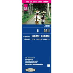 Bali térkép Reise 2016 1:1 150 000