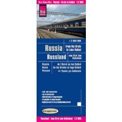 Oroszország térkép Reise Russia térkép 1:2 000 000