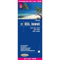 USA 12. Hawaii térkép Reise 1:1 250 000