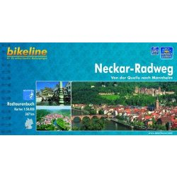Neckar-Radweg (Villingen-Mannheim) 1:50 000