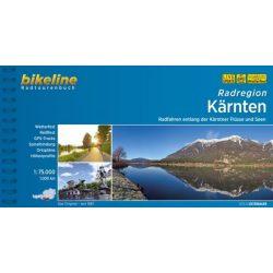 Karintia kerékpáros atlasz Esterbauer 1:75 000  2019 Kärnten Radatlas