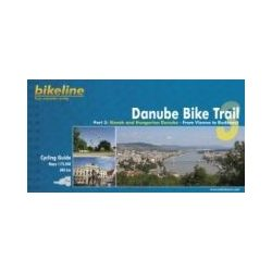 3. Danube Bike Trail kerékpáros atlasz Esterbauer 1:750 000  2017 Duna kerékpáros térkép
