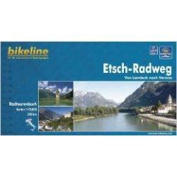 Etsch-Radweg kerékpáros atlasz Esterbauer 1:75 000  2013  Etsch kerékpáros térkép