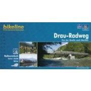 Drau-Radweg kerékpáros atlasz Esterbauer 1:50 000  2016  Dráva kerékpáros térkép