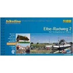 2. Elbe Radweg kerékpáros atlasz Esterbauer 1:75 000 Elba kerékpáros térkép