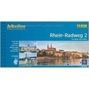 2. Rhein-Radweg kerékpáros atlasz Esterbauer 1:75 000   Rhein kerékpáros térkép