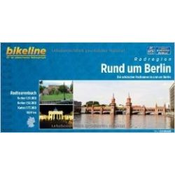 Berlin és környéke kerékpáros atlasz Esterbauer 1:20,50,75 000   Berlin kerékpáros térkép