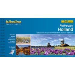 Radatlas Holland kerékpáros atlasz Esterbauer 1:75 000