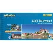 Elbe River Trail kerékpáros atlasz 1. Esterbauer 1:75 000   Elba kerékpáros térkép