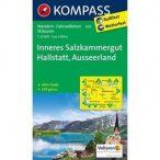 020. Inneres Salzkammergut turista térkép Kompass 1:25 000