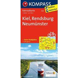 3004. Kiel, Rendsburg, Neumünster kerékpáros térkép 1:70 000  Fahrradkarten
