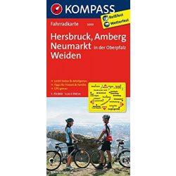 3099. Hersbruck, Amberg, Neumarkt/Oberpfalz, Weiden kerékpáros térkép 1:70 000  Fahrradkarten