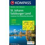 80. St. Johann, Salzburger Land turista térkép Kompass