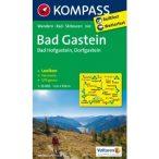 040. Bad Gastein, Bad Hofgastein, Dorfgastein, 1:35 000 turista térkép Kompass