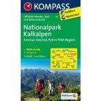 70. Kalkalpen nemzeti park turista térkép Kompass 1:50 000  Hochkar térkép