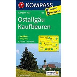 188. Ostallgäu, Kaufbeuren turista térkép Kompass
