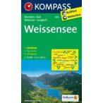 060. Weissensee turista térkép Kompass 1:25 000
