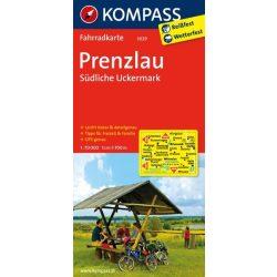 3029. Prenzlau, Südliche Uckermark kerékpáros térkép 1:70 000  Fahrradkarten