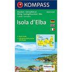 2468. Isola d'Elba turista térkép, D/I Kompass