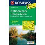 211. Donau-Auen turista térkép Kompass 1:50 000