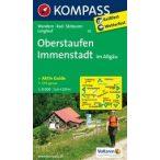 02. Oberstaufen turista térkép Kompass 1:25 000