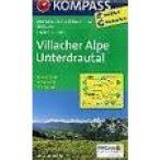 64. Villacher Alpe turista térkép Kompass 1:25 000