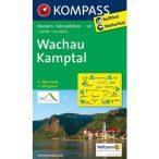 207. Wachau Kamptal turista térkép Kompass 1:50 000