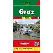 Graz térkép Freytag & Berndt 1:15 000