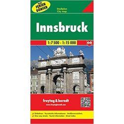 Innsbruck térkép Freytag & Berndt 1:15 000  1:7500