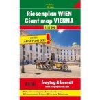 Bécs atlasz, Bécs autós atlasz, Bécs térkép, Bécs várostérkép Freytag & Berndt 1:12 500