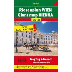 Bécs atlasz, óriásatlasz (Riesenplan) spirálkötésben, 1:12 500 Freytag térkép PL 60