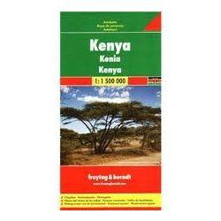Kenya térkép 1:1 500 000  Freytag térkép AK 23