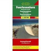 Fuerteventura térkép  1:100 000  Freytag térkép AK 0505