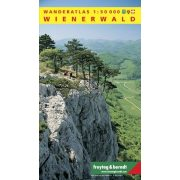 Wienerwald Wanderatlas Freytag & Berndt 1:50 000