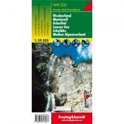 WK 031 Ötscherland, Mariazell, Erlauftal, Lunzer See, Scheibbs, Melker Alpenvorland turistatérkép 1:50 000