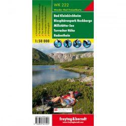 WK 222 Bad Kleinkirchheim, Nationalpark Nockberge, Millstätter See, Turracher Höhe, Radenthein turistatérkép 1:50 000