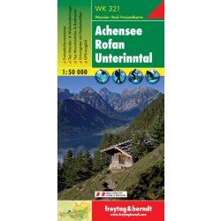 WK 321 Achensee, Rofan, Unterinntal turistatérkép 1:50 000