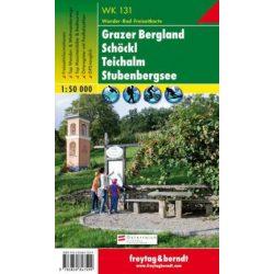 WK 131 Grazer Bergland, Schöckl, Teichalm, Stubenbergsee  turistatérkép 1:50 000
