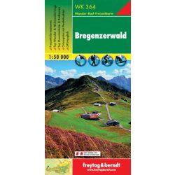 WK 364 Bregenzerwald turistatérkép 1:50 000