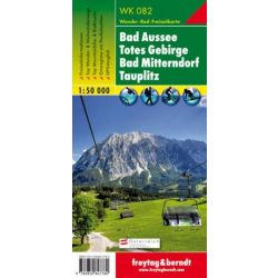 WK 082 Bad Aussee, Totes Gebirge, Bad Mitterndorf, Tauplitz turistatérkép 1:50 000