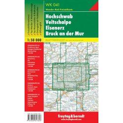 WK 041 Hochschwab, Veitschalpe, Eisenerz, Bruck a.d. Mur turistatérkép 1:50 000