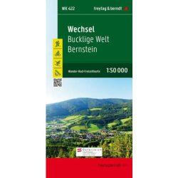 WK 422 Wechsel, Bucklige Welt, Bernstein turistatérkép 1:50 000