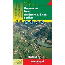 WK 051 Eisenwurzen, Steyr, Waidhofen a.d. Ybbs, Hochkar turistatérkép 1:50 000
