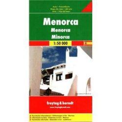 Menorca térkép, 1:50 000  Freytag AK 0509