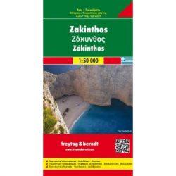 Zakinthos, 1:50 000  Freytag térkép AK 0817