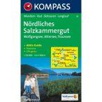 18.  Nordliches Salzkammergut turistatérkép  Kompass 1:50 000